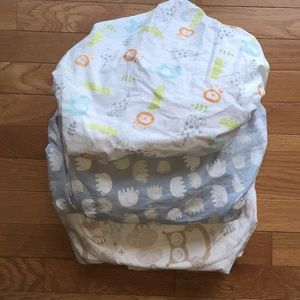 Other - 3 fitted crib sheets